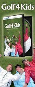 Golf4Kids - instruktionsdvd