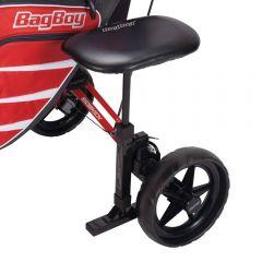 Bagboy sæde til golfvogn