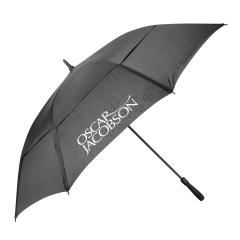 "Oscar Jacobson Dual Canopy paraply 64"""
